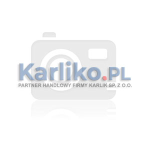 Karlik Deco 15-0-DRSM-2x3 - Ramka sześciokrotna Deco Efekt Szkła - 2x Poziom + 3x Pion - Podstawa w kolorze Białym - Plexi Szare - Podgląd zdjęcia producenta