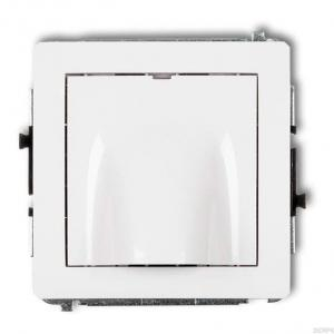 Karlik Deco 25DWPK - Przyłącze kablowe - Biały Mat - Podgląd zdjęcia producenta