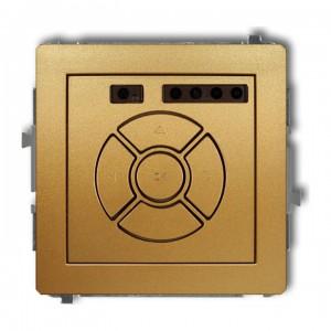 Karlik Deco 29DSR-1 - Elektroniczny sterowniik roletowy, sterowanie lokalne - Złoty - Podgląd zdjęcia producenta