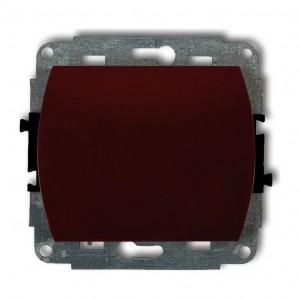 Karlik Trend 4WP-1 - Łącznik pojedynczy 10A, zaciski śrubowe - Biały - Podgląd zdjęcia producenta