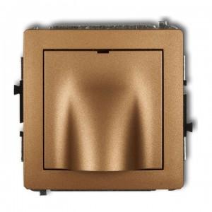 Karlik Deco 8DWPK - Przyłącze kablowe - Złoty Metalik - Podgląd zdjęcia producenta