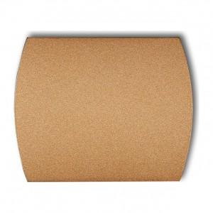 Karlik Trend 8ZA - Zaślepka ramki, wymagana kostka KM w przypadku ramki pojedynczej i/lub miejsc skrajnych ramki - Złoty Metalik - Podgląd zdjęcia producenta