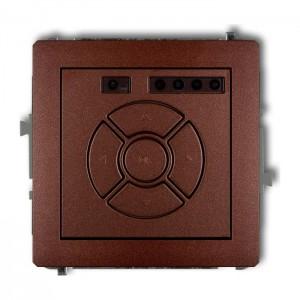 Karlik Deco 9DSR-1 - Elektroniczny sterowniik roletowy, sterowanie lokalne - Brązowy Metalik - Podgląd zdjęcia producenta