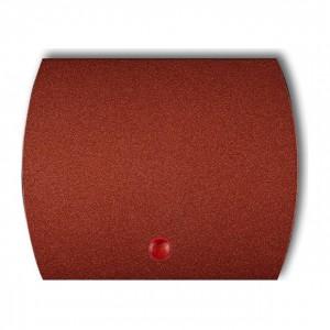 Karlik Trend 9KZO - Puszka montażowa natynkowa, potrójna - Brązowy Metalik - Podgląd zdjęcia producenta