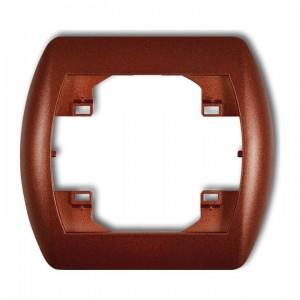 Karlik Trend 9RH-1 - Ramka pojedyncza TREND - Brązowy Metalik - Podgląd zdjęcia producenta