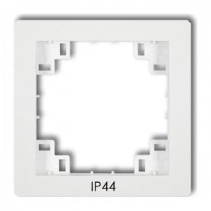 Karlik Deco DRPH - Ramka pośrednia z piktogramem IP44 - Biały - Podgląd zdjęcia producenta