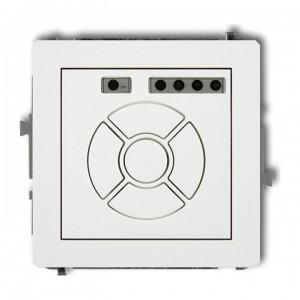 Karlik Deco DSR-1 - Elektroniczny sterowniik roletowy, sterowanie lokalne - Biały - Podgląd zdjęcia producenta