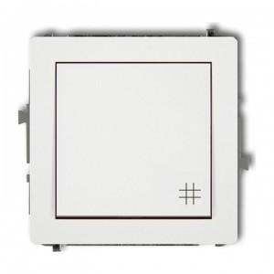 Karlik Deco DWP-6 - Łącznik krzyżowy 10A, zaciski śrubowe - Biały - Podgląd zdjęcia producenta