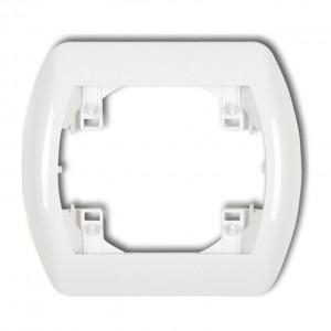 Karlik Trend RH-1 - Ramka pojedyncza TREND - Biały - Podgląd zdjęcia producenta